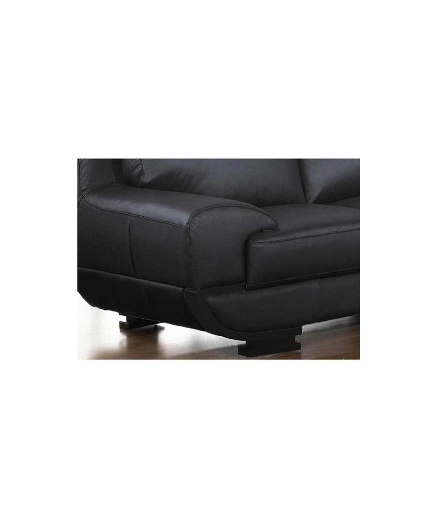 Sofa de piel oriental for Sofas modulares de piel