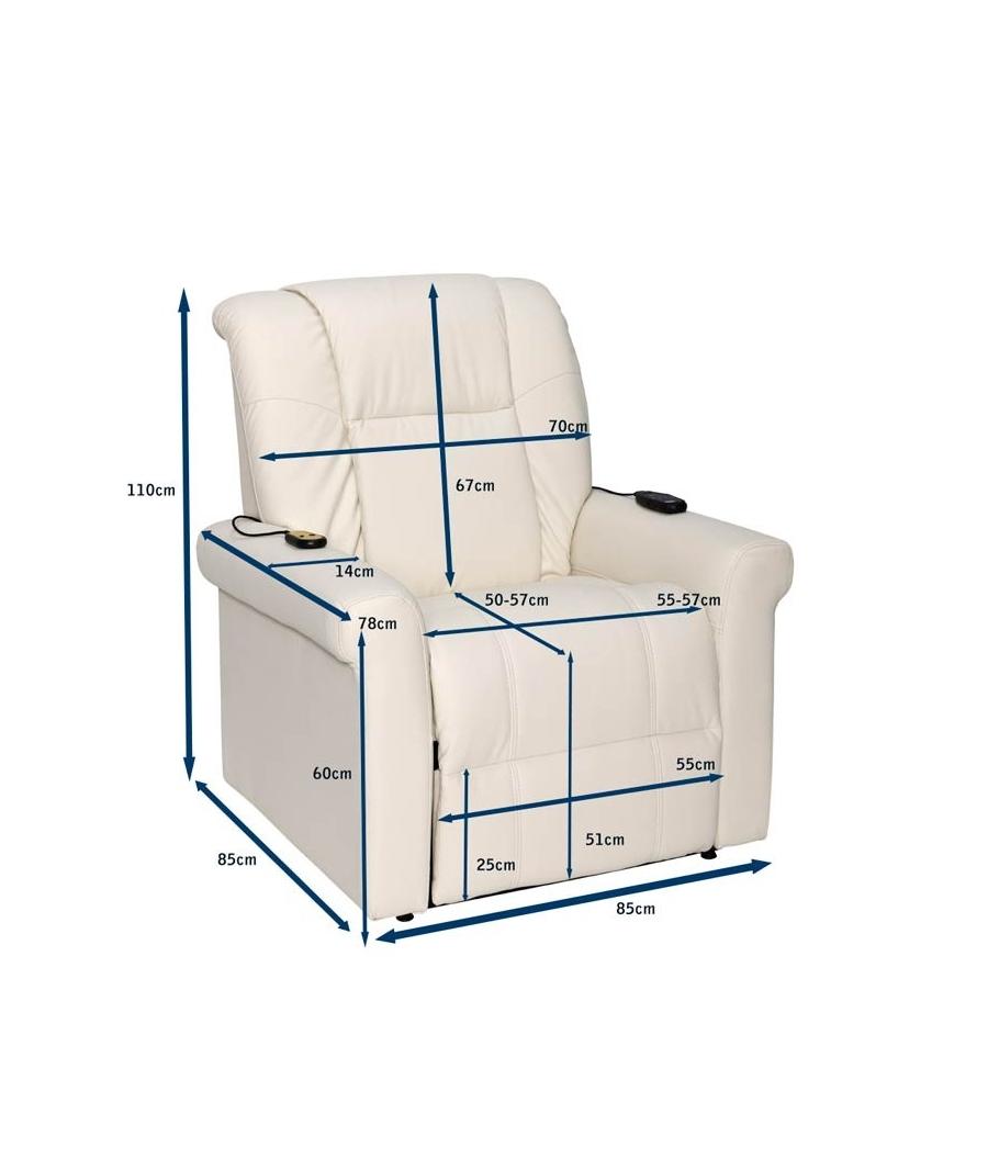 Sillones relax levanta personas for Medidas de sillones en l