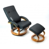 Sillón relax reclinable negro