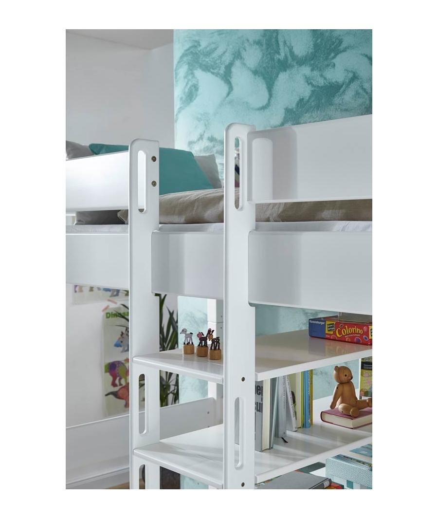 Pin cama alta con escritorio en la parte de abajo 270000 - Cama con escritorio abajo ...