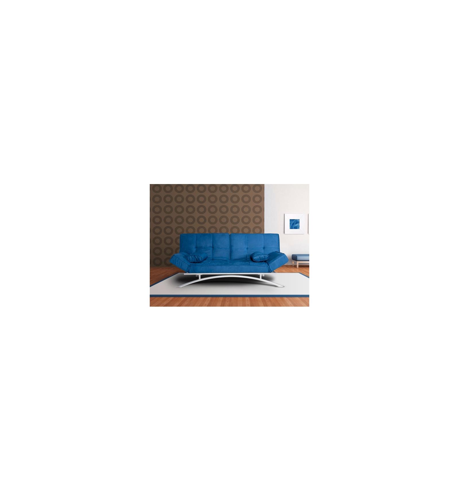 Sof cama clic clac azul for Sofa cama clic clac conforama