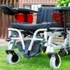 Silla de ruedas movilidad reducida
