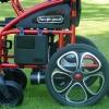 Silla de ruedas con joystick