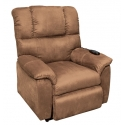 SILLON LEVANTAPERSONAS ELECTRICO SHANON MARRON