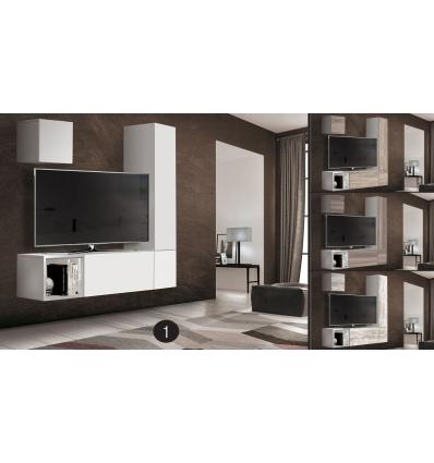 Mueble modular de sal n twist - Mueble salon modular ...