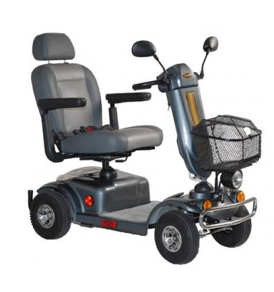 Scooter eléctrico negro