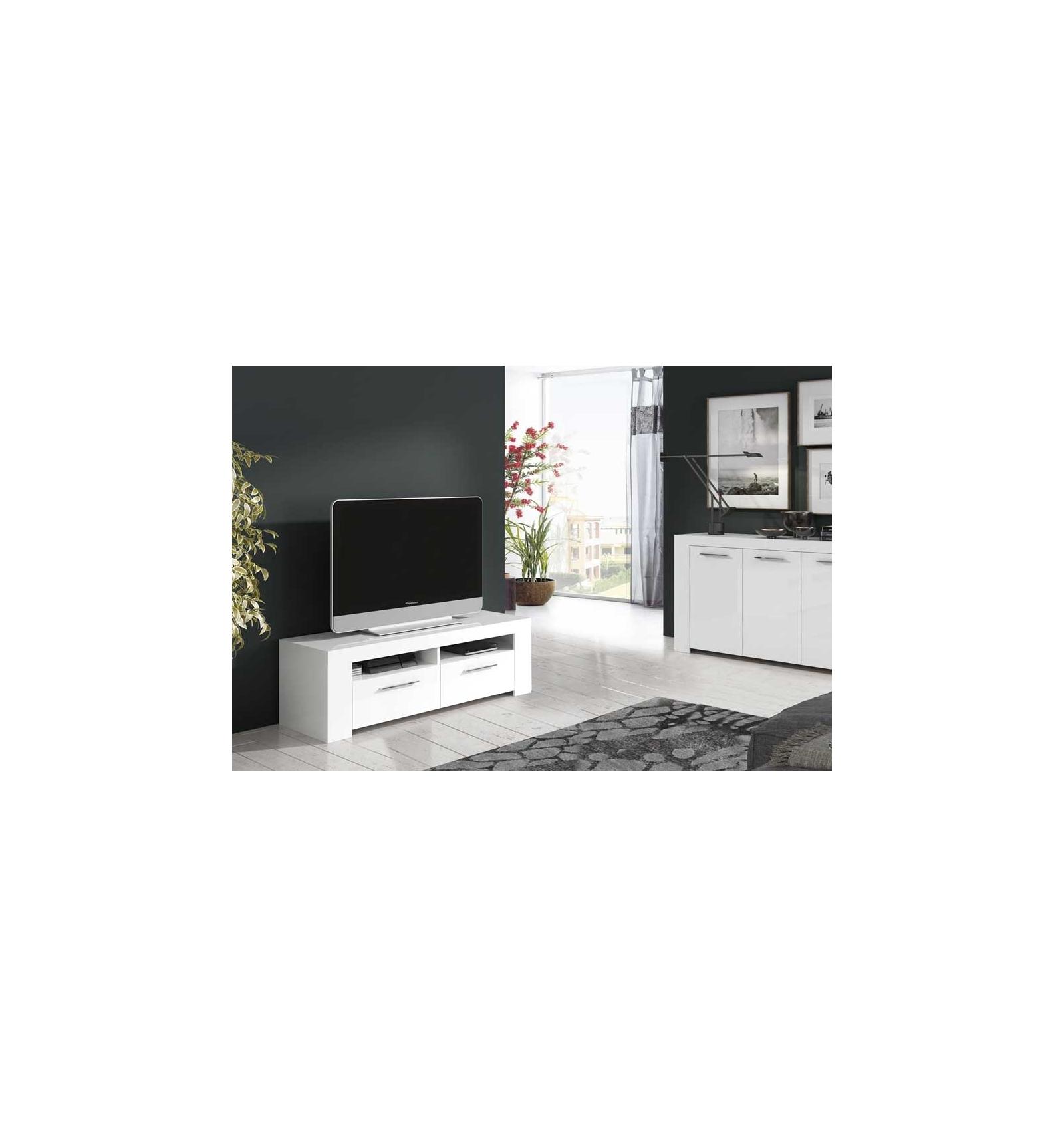Mueble para tv alodia for Mueble compacto tv