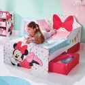 CAMA CON CAJONES MINNIE MOUSE