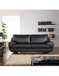 sofa de piel oriental