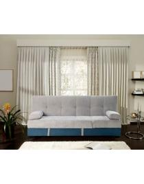 sofa cama bicolor