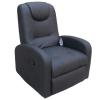 Sofá relax negro