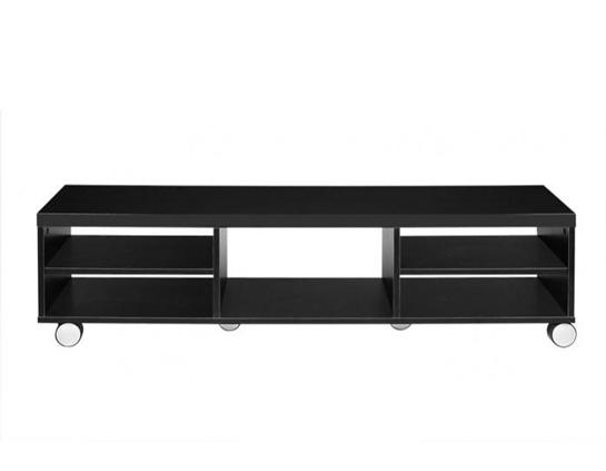Pin mueble tv moderno mesas de muebles y para la televisi - Mueble tv con ruedas ...